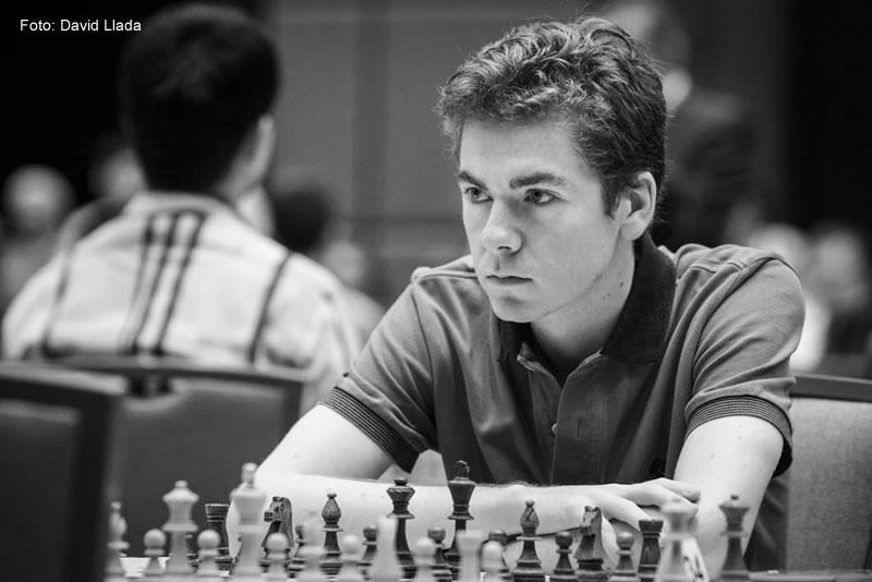El GM español David Antón (foto de David Llada)