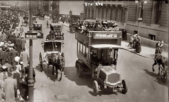 la Quinta Avenida de New York.