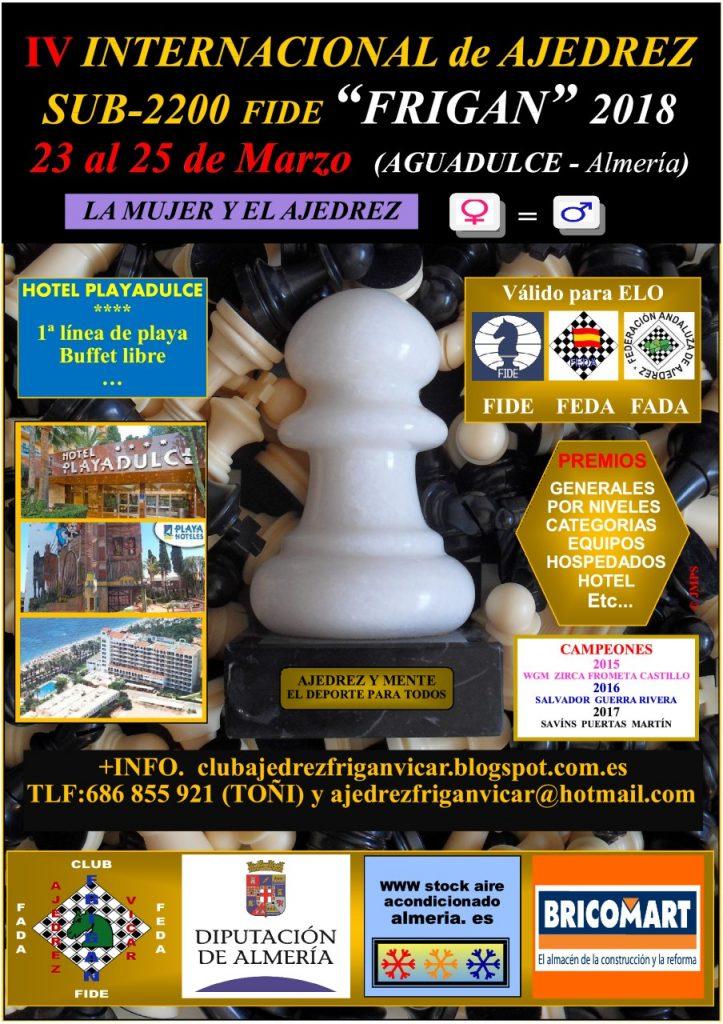 """III Internacional sub-2200 """"FRIGAN"""" @ Hotel Playadulce"""