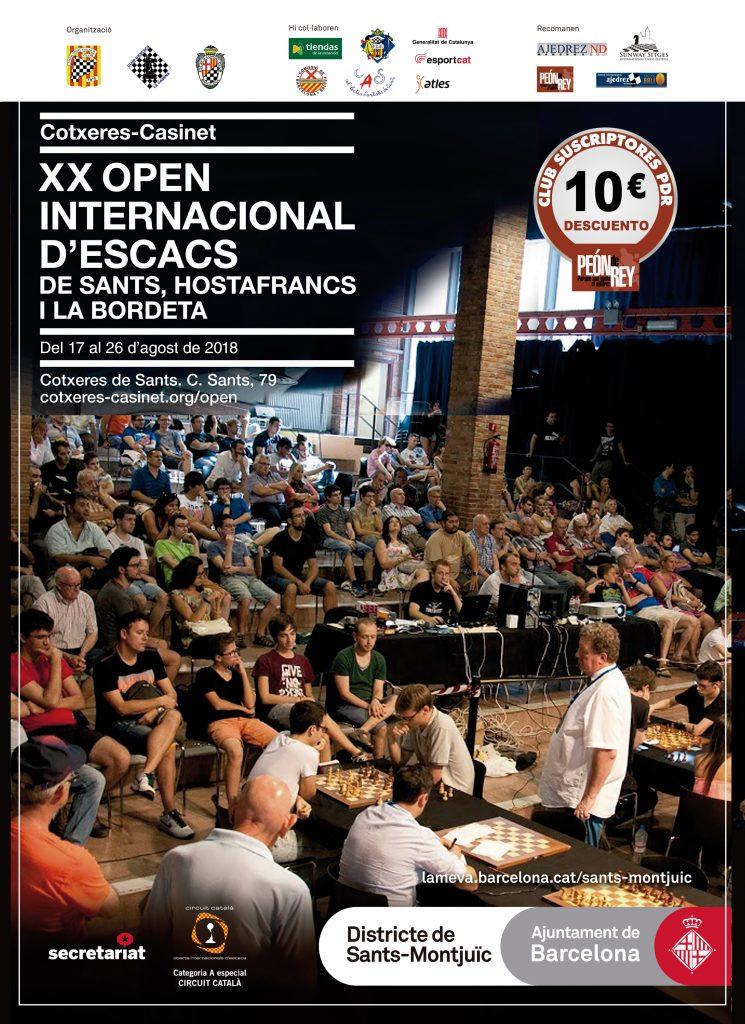 XX OPEN  INTERNACIONAL  DE SANTS @ Cocheras de Sants
