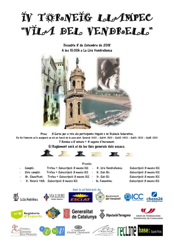 IV TORNEIG LLAMPEC VILA DEL VENDRELL @ LA LIRA VENDRELLENCA