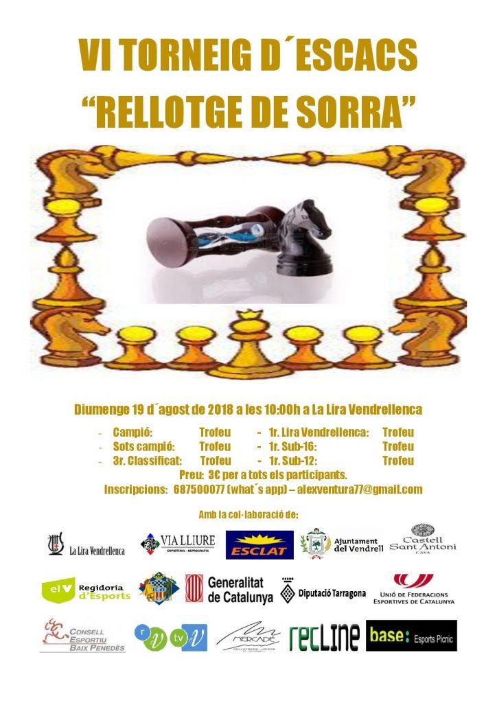 VI TORNEIG RELLOTGE DE SORRA @ LA LIRA VENDRELLENCA