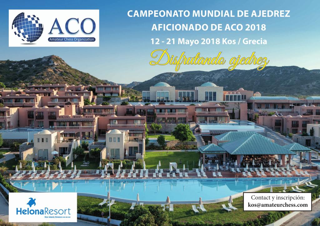 Campeonato Mundial Aficionados Grecia @ Helona Resort Kos