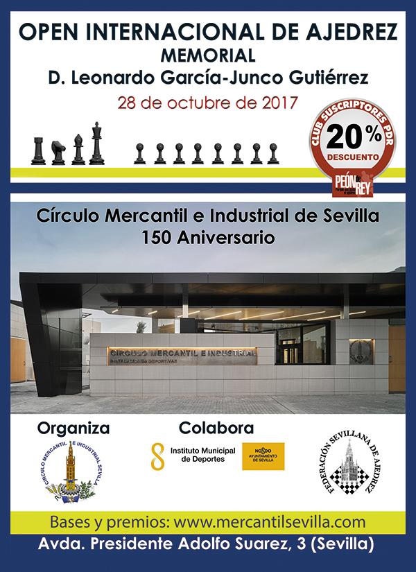 Open Internacional Leonardo Garcia @ Circulo Mercantil