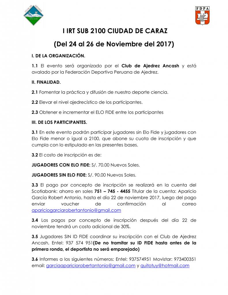 I IRT SUB 2100 CIUDAD DE CARAZ @ RECREO CAMPESTRE LA CAPULLANA