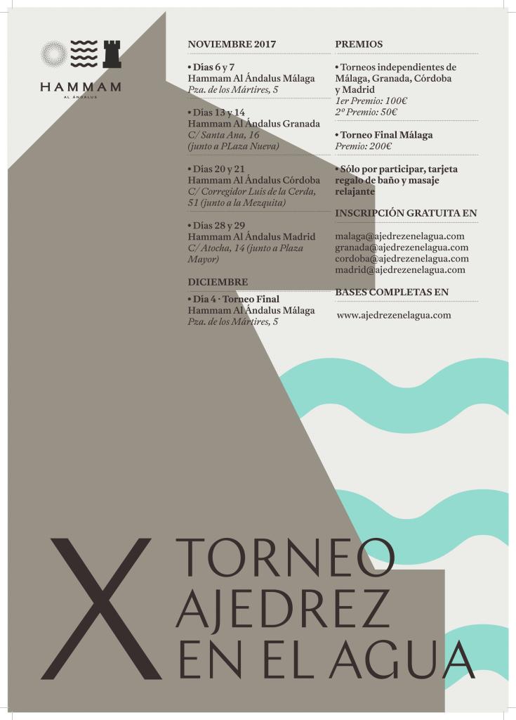 X TORNEO AJEDREZ EN EL AGUA @ MALAGA GRANADA CORDOBA MADRID