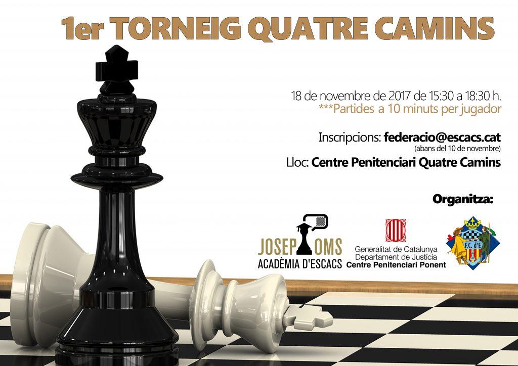 1er TORNEIG QUATRE CAMINS @ Centro Penitencario Quatre Camins