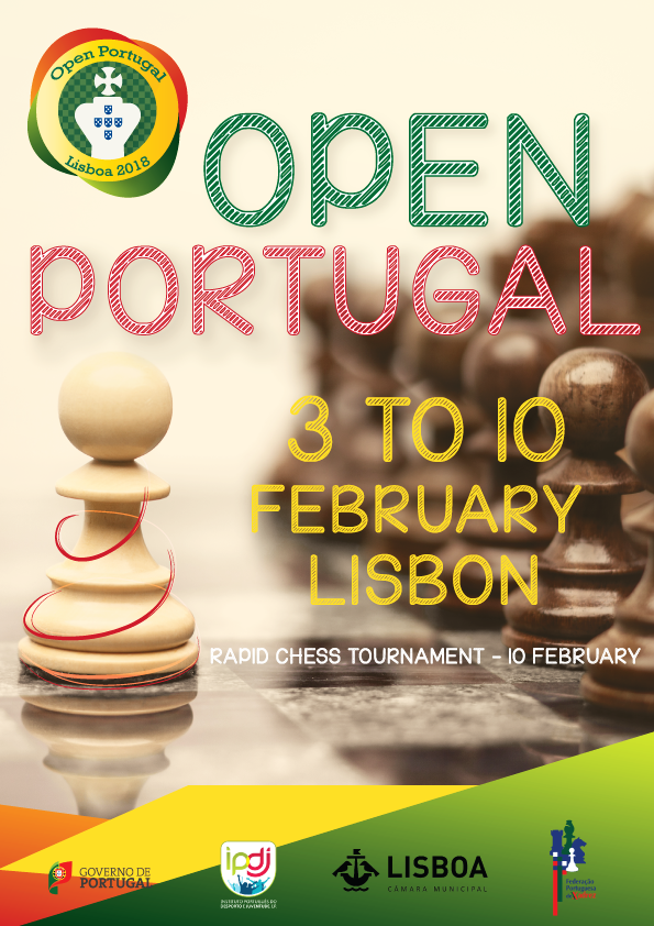 OPEN DE PORTUGAL @ Desportivo Municipal Casal Vistoso | Lisboa | Lisboa | Portugal