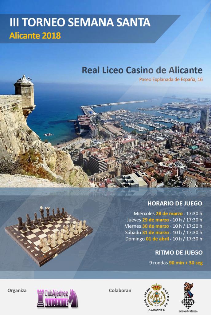 III TORNEO SEMANA SANTA ALICANTE @ REAL LICEO CASINO ALICANTE | Alacant | Comunidad Valenciana | España