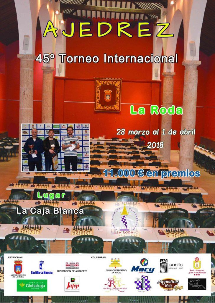 "45º TORNEO INTERNACIONAL LA RODA @ Centro Multifuncional ""La Caja Blanca | La Roda | Castilla-La Mancha | España"