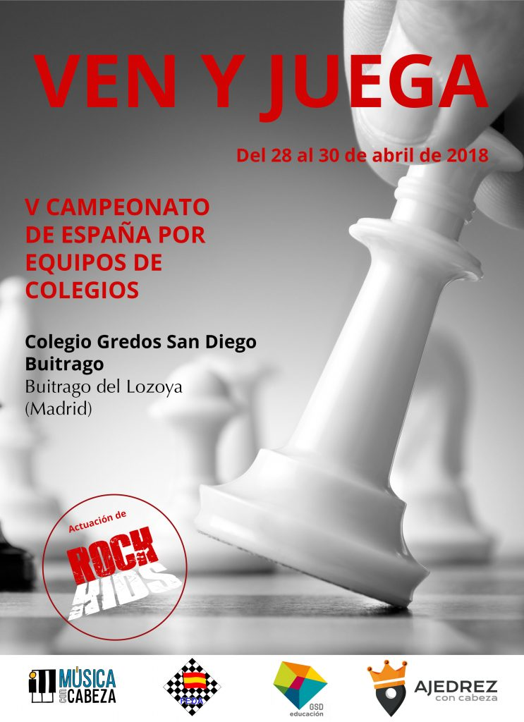 V Campeonato de España Por Equipos de Colegios Sub 12 @ Colegio Gredos San Diego Buitrago | Buitrago del Lozoya | Comunidad de Madrid | España