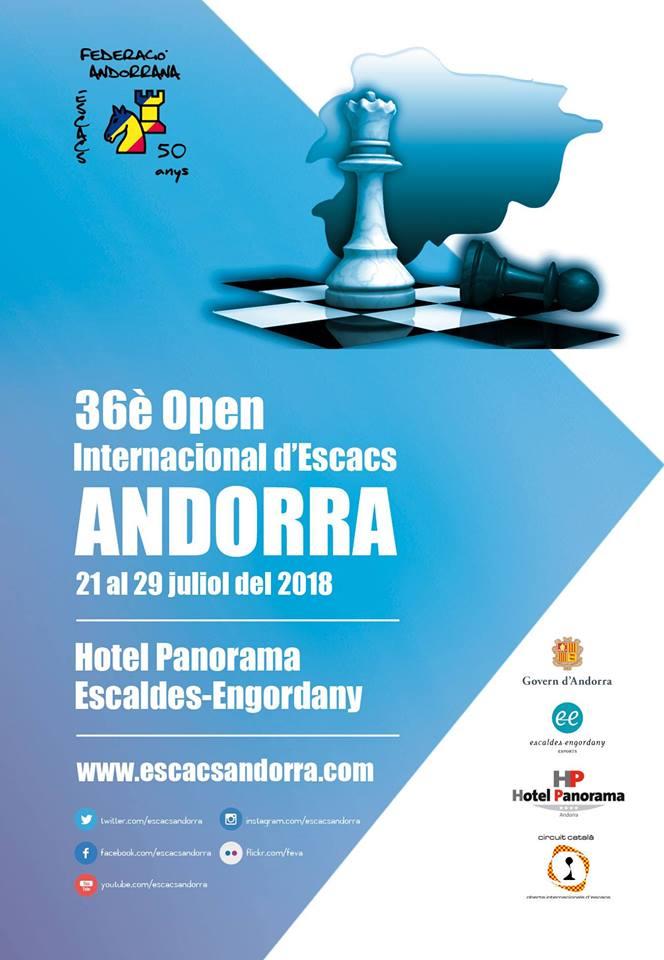 36è OPEN  INTERNACIONAL ANDORRA @ Hotel Panorama | Andorra la Vella | Escaldes-Engordany | Andorra