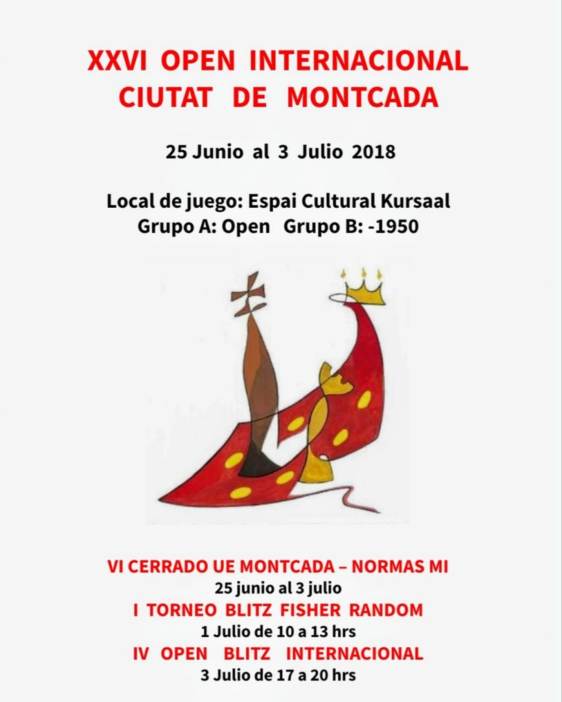 XXVI OPEN INTERNACIONAL CIUTAT DE MONTCADA @ Pabellon Miquel Poblet | Montcada i Reixac | Catalunya | España