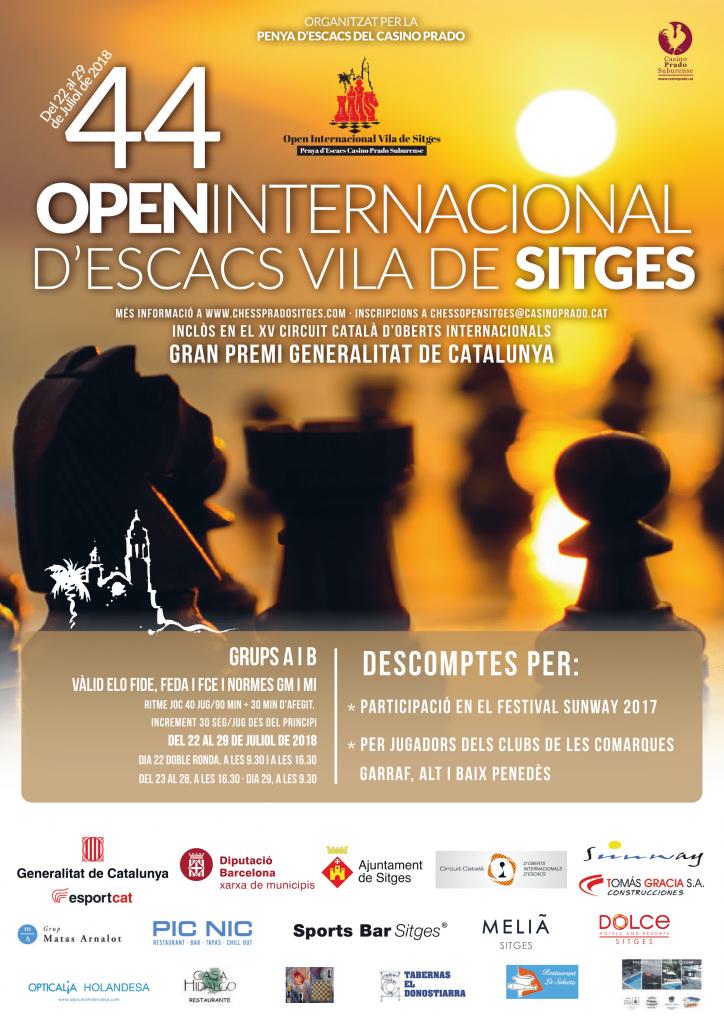 44 OPEN INTERNACIONAL  VILA DE SITGES @ Teatro Casino Prado | Sitges | Catalunya | España