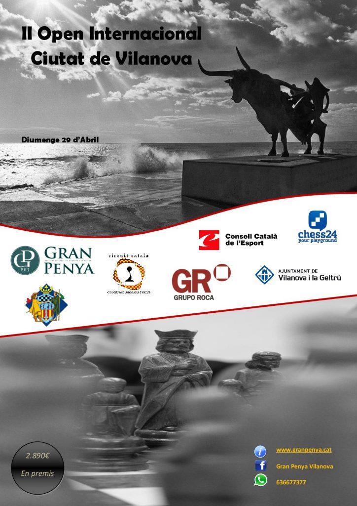 II OPEN   INTERNACIONAL  CIUTAT DE VILANOVA @ Sociedad Cultural La Gran Penya | Vilanova i la Geltrú | Catalunya | España