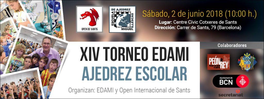 XIV TORNEO INFANTIL EDAMI @ Cocheras de Sants | Barcelona | Catalunya | España