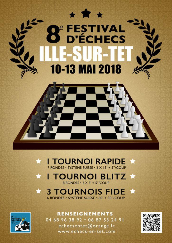 8e FESTIVAL  D´ECHECS  ILLE-SUR-TET @ Sala La Catalana
