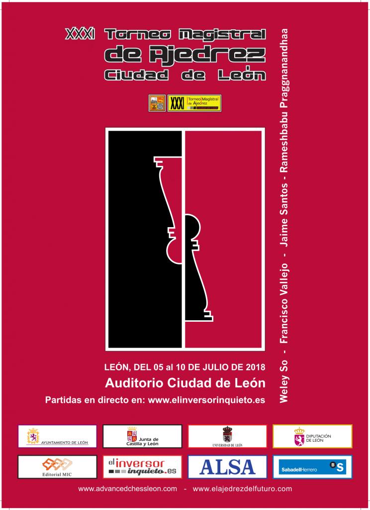 XXXI TORNEO MAGISTRAL  CIUDAD DE LEÓN @ Auditoria de la Ciudad de León