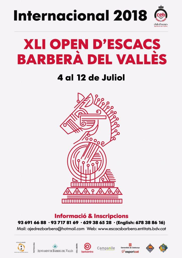 XLI  OPEN INTERNACIONAL  BARBERA DEL VALLES @ Torre d´en Gorg 40