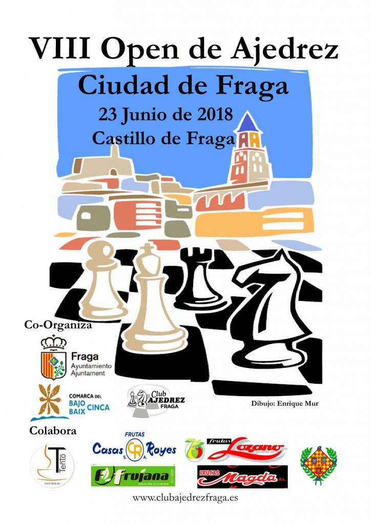 VIII OPEN  CIUDAD DE FRAGA  HUESCA @ Castillo de Fraga