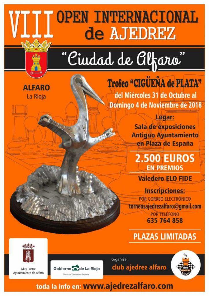 VIII OPEN CIUDAD DE ALFARO @ Sala de Exposiciones del Antiguo Ayuntamiento