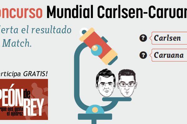 Concurso Mundial ajedrez Carlsen - Caruana