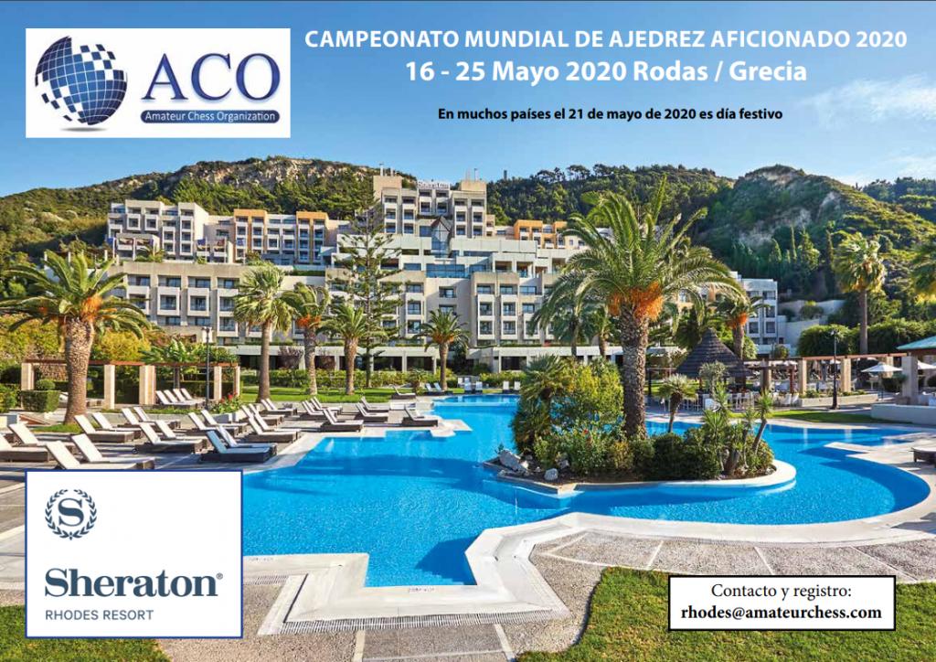 MUNDIAL ACO RODAS (GRECIA) @ Sheraton Rhodes Resort | Grecia