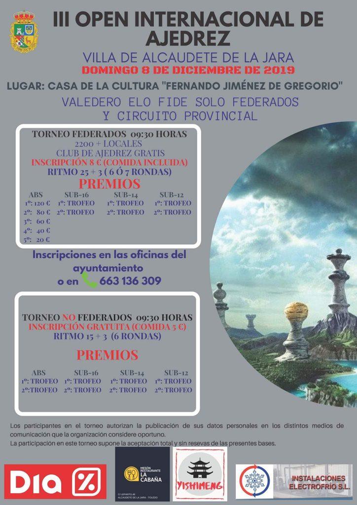 ALCAUDETE DE LA JARA - TOLEDO @ Casa da Cultura Alcaudete de la Jara | Alcaudete de la Jara | Castilla-La Mancha | España